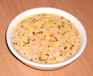 Salata de iaurt cu morcov