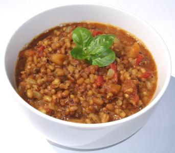 Tomato Moth Beans Masala