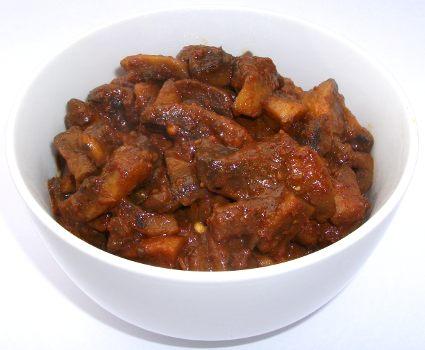 Mushroom Masala Roast